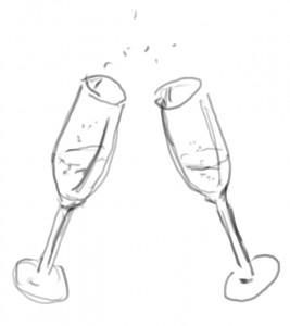 sekt-gläser